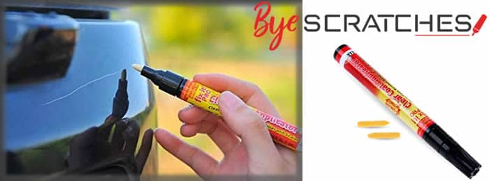 Bye Scratches pencil scratches remover from car reviews and opinions