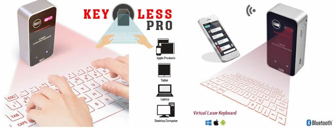 Keyless Pro virtual laser keyboard reviews and opinions