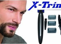 X Trimmer the new electric razor led