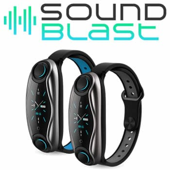 buy Soundblast smartband with wireless headphones reviews and opinions