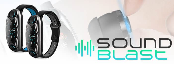 Soundblast smartband with wireless headphones reviews and opinions