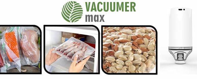 Vacuumer Max pour la conservation des aliments sous vide avis et opinions