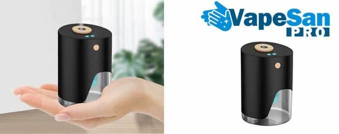 Vapesan Pro désinfectant gel vaporisateur avis et opinions