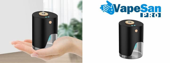 Vapesan Pro disinfectant gel vaporizer reviews and opinions
