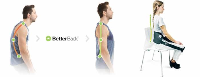 BetterBack assis posture correcteur critiques et opinions