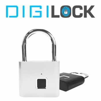 comprar candado de huella dactilar Digilock reseñas y opiniones