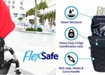 Flexsafe backpack anti-theft safe reviews and opinions