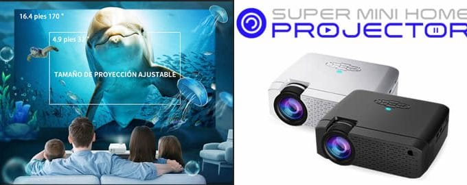 Super Mini Home Projector reseñas y opiniones