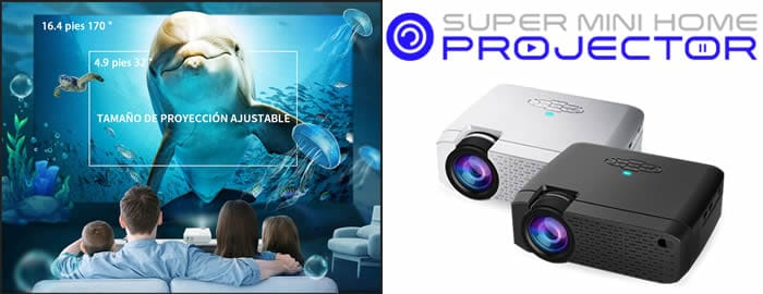 Super Mini Home Projector review and opinions