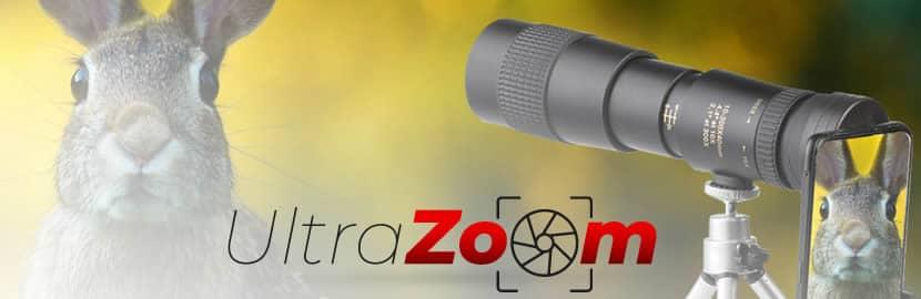 Ultra Zoom para smartphones reseñas y opiniones
