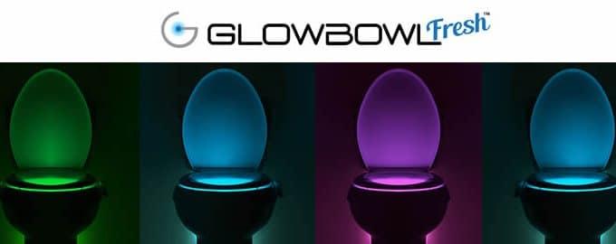 GlowBowl Fresh assainisseur d'air lumineux pour toilettes avis et opinions