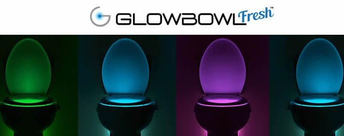 GlowBowl Fresh luminous air freshener for toilet reviews and opinions