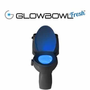 buy GlowBowl Fresh luminous air freshener for toilet reviews and opinions