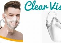 Clear Visor transparent mask reusable reviews and opinions