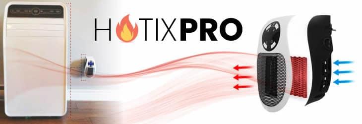 Acquista Hotix Pro mini riscaldatore ceramico a basso consumo