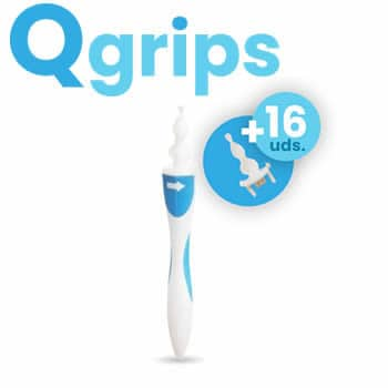 Qgrips professional ear cleaner spiral earwax removal
