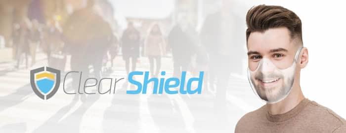 Clear Shield máscara reutilizável para coronavírus avaliações e opiniões