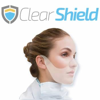comprar Clear Shield máscara reutilizável para coronavírus avaliações e opiniões