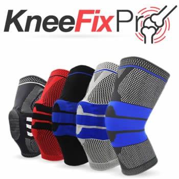 comprar tipo Circa knee Kneefix Pro joelheira elástica cinta para menisco e patela avaliações e opiniões
