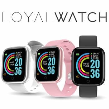 comprar Loyal Watch smartwatch avaliações e opiniões