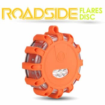 Car Gadget Roadside Flares Disc As novas luzes de emergência de luz de ajuda