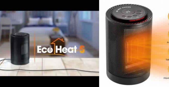 Ecoheat S aquecedor cerâmica avaliações e opiniões