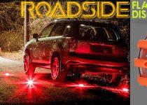 Roadside Flares Disc as novas luzes de emergência flash light avaliações e opiniões