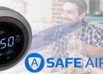 Safe Air X medidor de ozonio e co2 comentarios e opinioes
