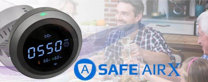 Safe Air X medidor de ozono y CO2 reseñas y opiniones