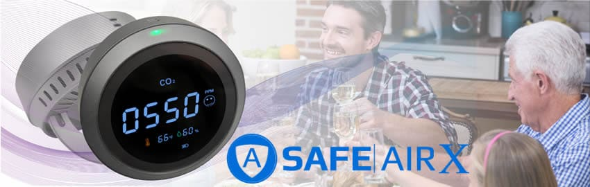 Safe Air X ozono e co2 misuratore recensioni e opinioni