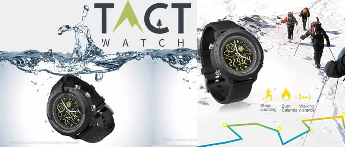 smartwatch tactical Tact Watch recensioni e opinioni
