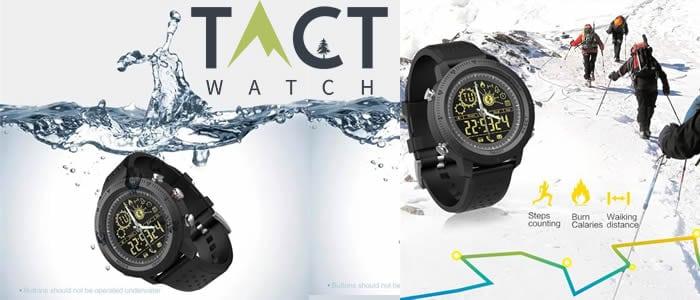 uhr smartwatch taktik Tact Watch erfahrungen und meinungen