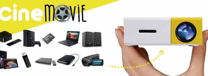 Cine Movie mini projektor portabel hd erfahrungen und meinungen