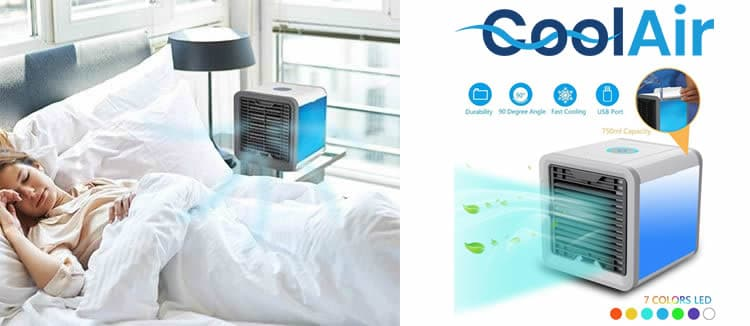 Coolair o refrigerador de aire barato avaliações e opiniões