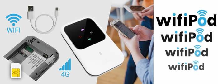 Wifi Pod enrutador 4G amplificador sinal wifi avaliações e opiniões