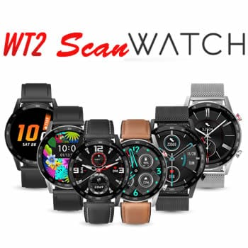 acheter Scanwatch smartwatch modèle wt2 avis et opinions