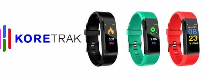 Koretrack smartband fitness tracker análises e opiniões