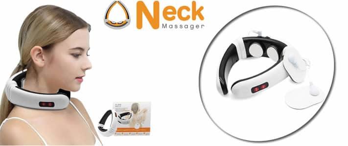 Neck Massager neues Nackenmassagegerät anti-stress erfahrungen und meinungen