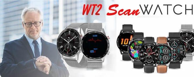 Scanwatch smartwatch modèle wt2 avis et opinions