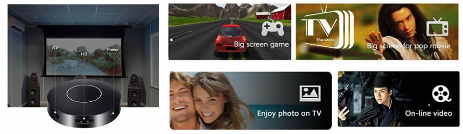 TV Share Max conecta smartphone a la tv reseñas y opiniones