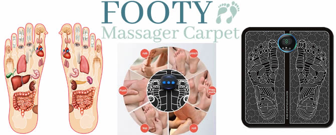 Footy Massager Carpet review and opinions