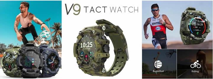 V9 Tact Watch, recensioni e opinioni di smartwatch militari