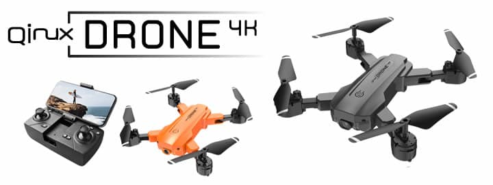 Qinux Drone 4K reviews and opinions